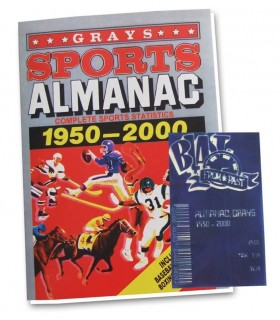 Almanaque Regreso al Futuro Sports Almanac 1950-2000