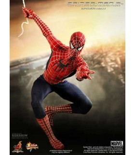 Figura Spider-man Movie Masterpiece 30 cm Hot Toys Escala 1:6