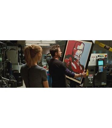 Poster Iron Man 2 Estilo Shepard Fairey
