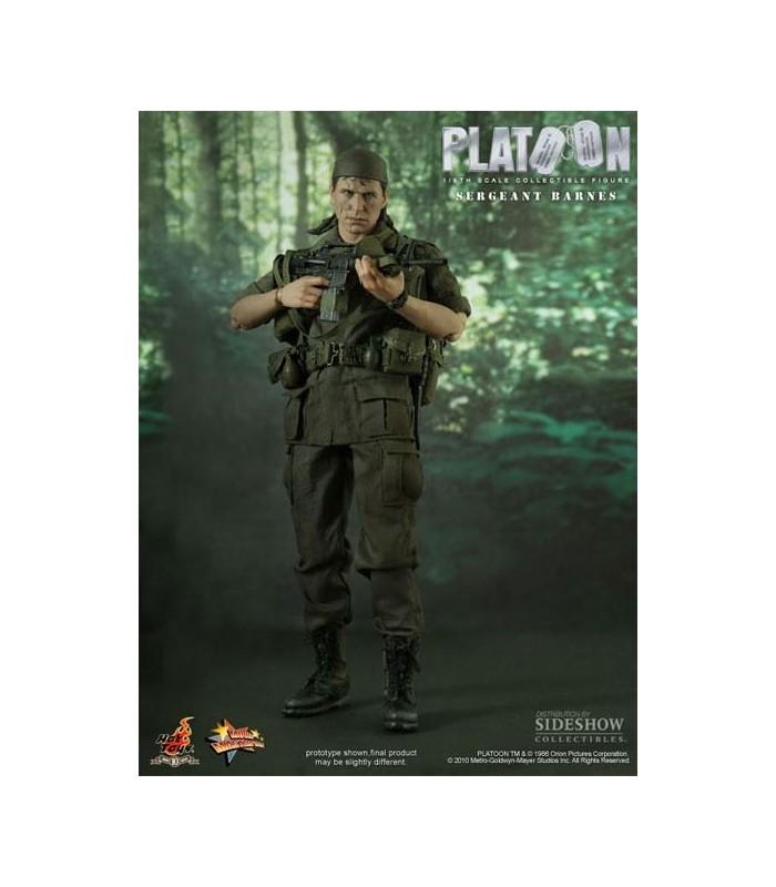 Figura Sargento Barnes Escala 1:6 30cms Platoon