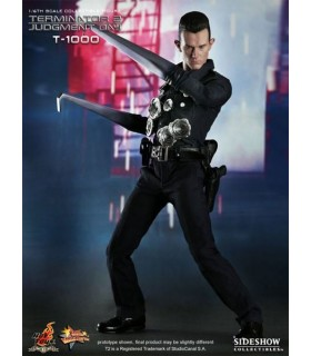 Figura T-1000 Movie Masterpiece Terminator 2 Escala 1:6 30cm