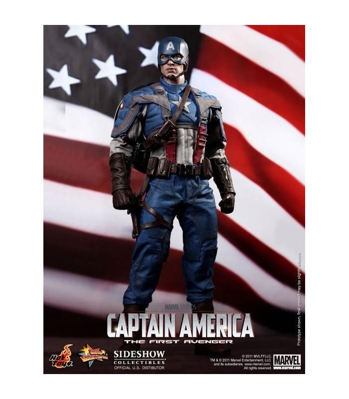 Figura Capitan América First Avenger Primer Vengador 1:6 30cm