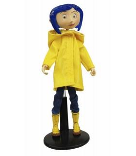 Figura Coraline 18cm Chubasquero y Botas Bendy Fashion Doll