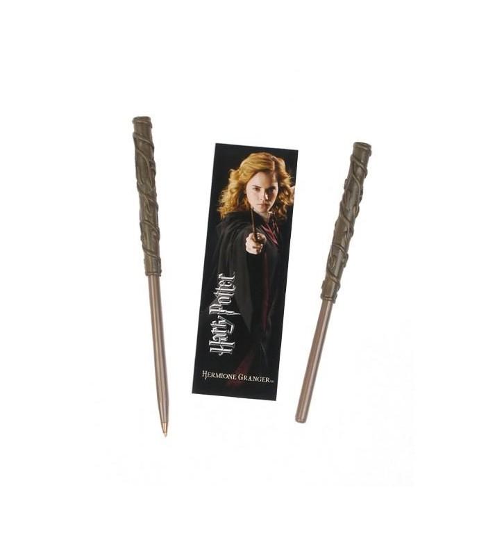 Set Punto de Libro y Bolígrafo Hermione Harry Potter