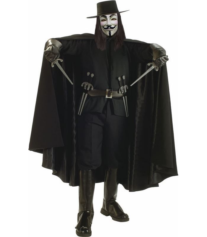 Capa de V de Vendetta - Deluxe