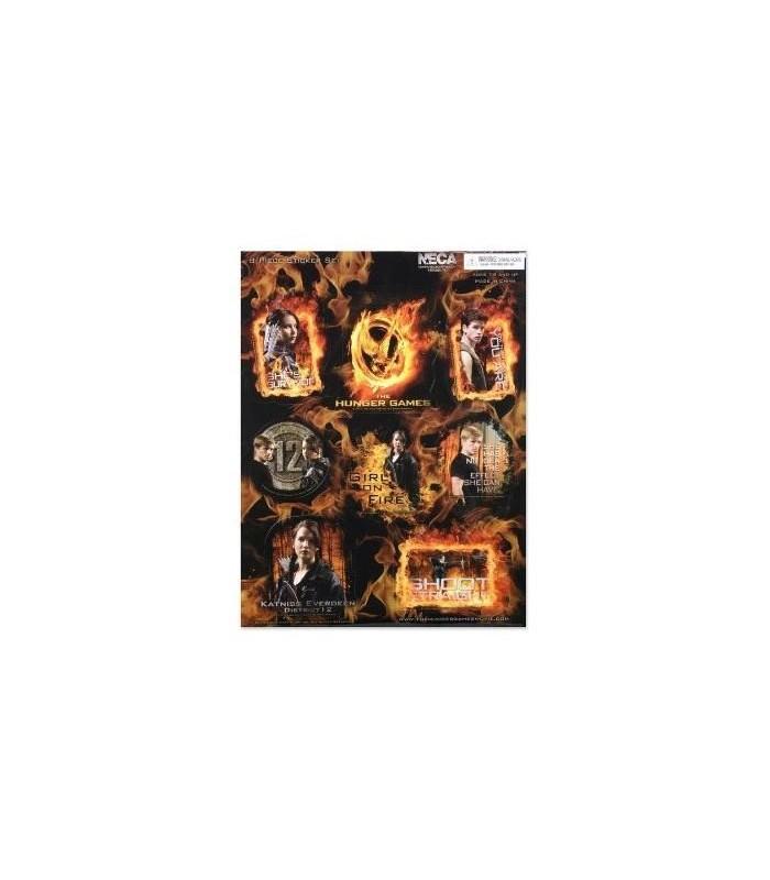 Pegatinas Los Juegos del Hambre Set de 8 - Personajes
