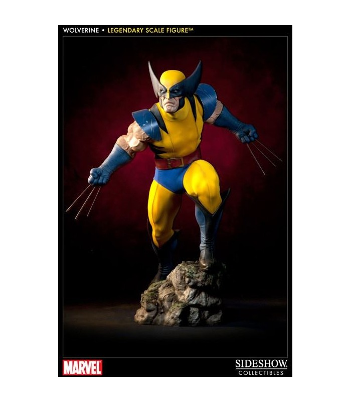 Estatua Wolverine Lobezno Legendary Scale Marvel Escala 1:2