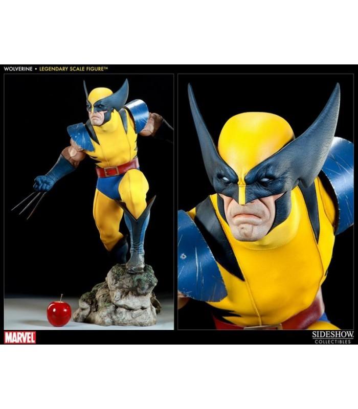 Estatua Wolverine Lobezno Legendary Scale Marvel Escala 1:2