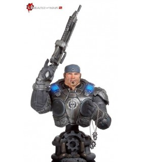 Busto Marcus Fenix Epic Scale Gears of War 2