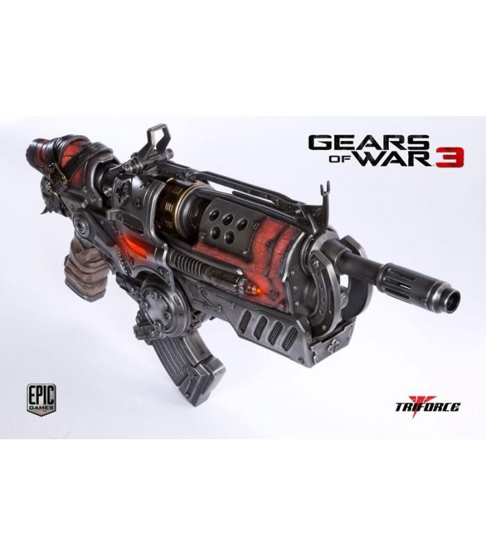 Locust Hammerburst II Réplica Escala 1:1 Gears of War 3