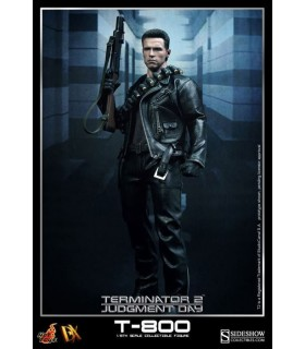 Figura T-800 Movie Masterpierce Terminator 2 escala 1:6
