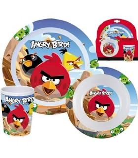 Set Desayuno Personajes de Angry Birds