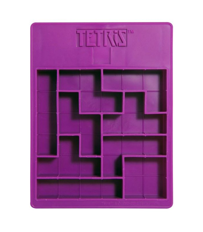 Cubitera Tetris Molde Silicona