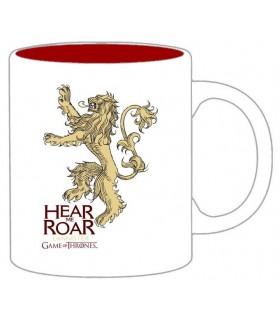 """Taza Juego de Tronos Mug """"Lannister - Hear Me Roar"""" (Bicolor)"""