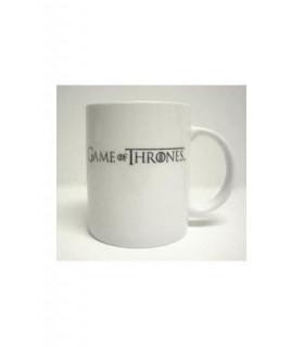 """Taza Juego de Tronos Mug """"Game of Thrones"""" (Blanca)"""
