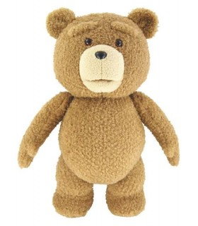 Peluche Ted con Voz en Inglés Réplica Tamaño 40 cm