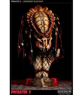 Busto Depredador 2 Predator 2 Legendary Scale Escala 1:2