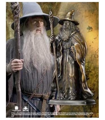 Escultura Bronce Gandalf El Hobbit: Un Viaje Inesperado