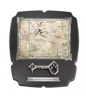 Mapa y Llave de Erebor Thorin El Hobbit: Un Viaje Inesperado