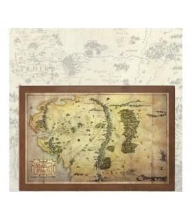 Mapa de la Tierra Media El Hobbit: Un Viaje Inesperado Réplica