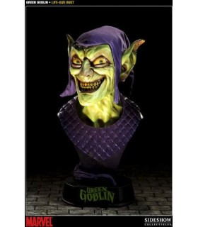 Busto Green Goblin Life Size Bust Duende Verde Spiderman 1:1