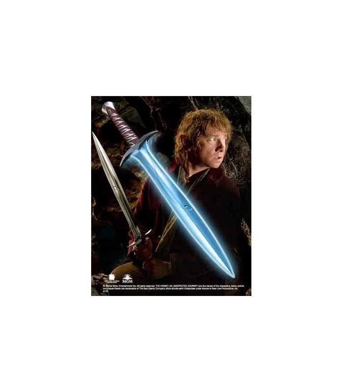 Espada Dardo con Luz de Bilbo Bolsón El Hobbit Réplica 1:1