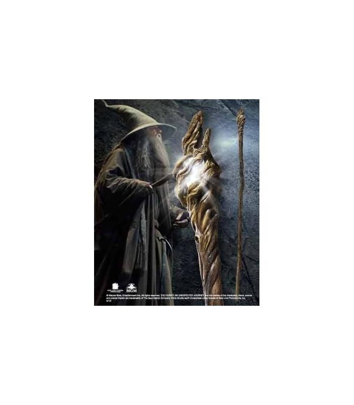 Vara Gandalf El Gris con Luz El Hobbit: Un Viaje... Réplica 1:1