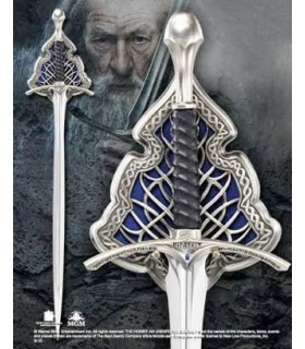 Espada Glamdring Gandalf el Gris El Hobbit Noble Collection
