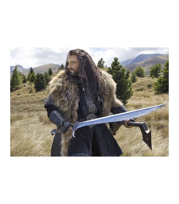 Espada Orcrist Thorin Escudo de Roble El Hobbit Noble Collection