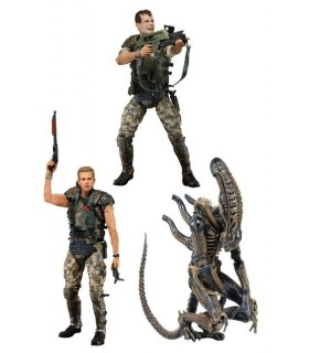 Set 3 figuras Hudson Hicks Alien Aliens