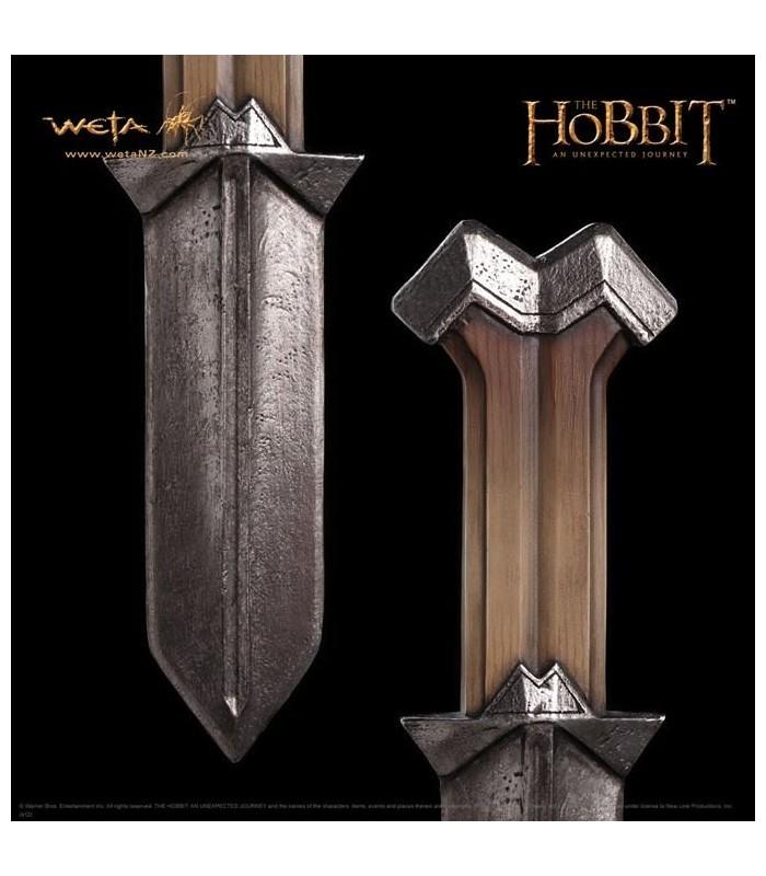 Cuchillos de Nori El Hobbit: Un Viaje... Réplica Escala 1:1