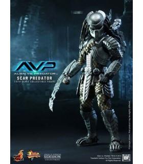 Figura Scar Predator Escala 1:6 Depredador Alien vs. Depredador