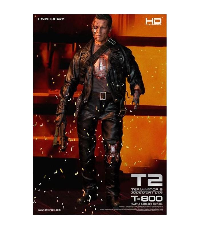Figura T-800 Battle Damaged Terminator 2 Escala 1:4