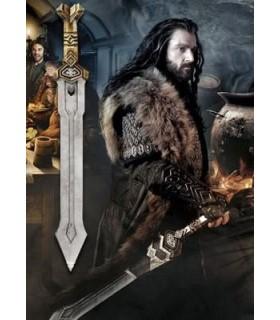 Espada Dwarven de Thorin Escudo de Roble El Hobbit: Un Viaje