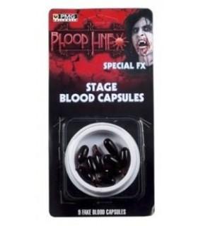 Cápsulas Sangre Líquida Maquillaje FX