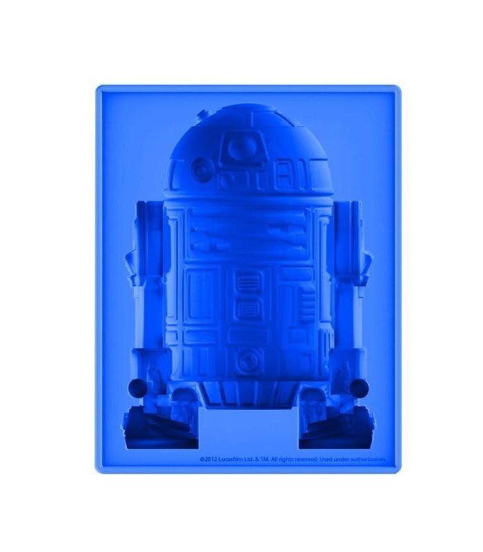 Cubitera Molde Silicona R2D2 Star Wars (Grande)