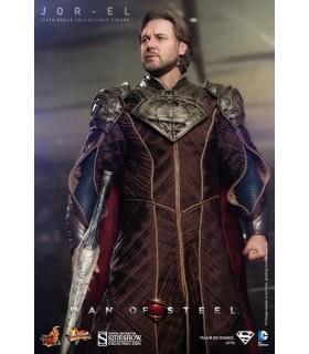 Figura Jor-El El Hombre de Acero Superman Escala 1:6