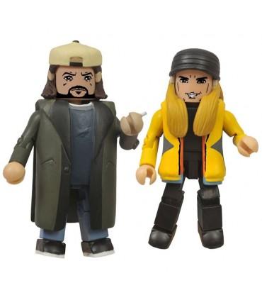 Figuras Jay y Bob el Silencioso Contraatacan