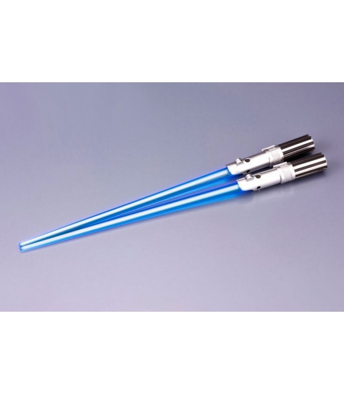 Palillos Chinos Sable de Laser Luke Skywalker Star Wars con Luz