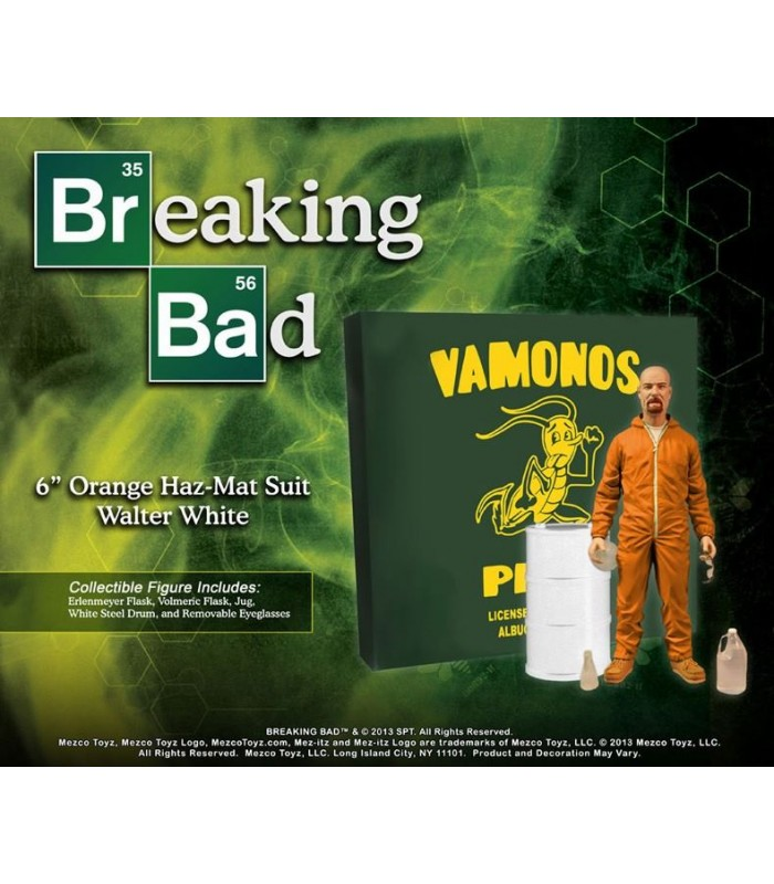 Figura Walter White Heisenberg Breaking Bad