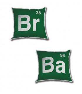 Set 2 Cojines Logo Breaking Bad