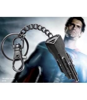 Llavero Llave Nave Espacial Man of Steel Superman Hombre Acero