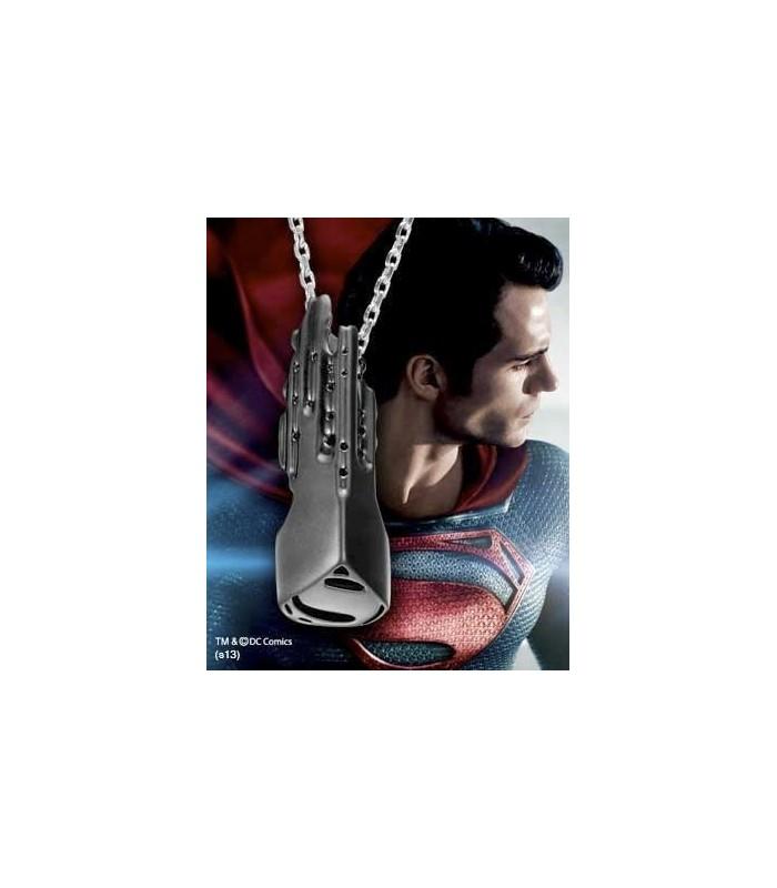 Colgante Llave Nave Espacial Man of Steel Superman Hombre Acero