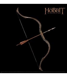 Arco y Flecha Tauriel Réplica 1:1 El Hobbit La Desolación Smaug