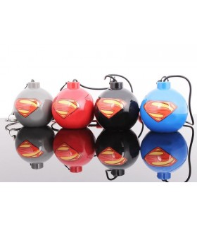 Mini Altavoz Negro Man of Steel Superman