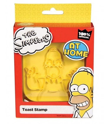 Estampa para Pan Tostado Homer Los Simpsons