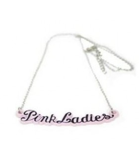 Collar Gargantilla Pink Ladies Grease