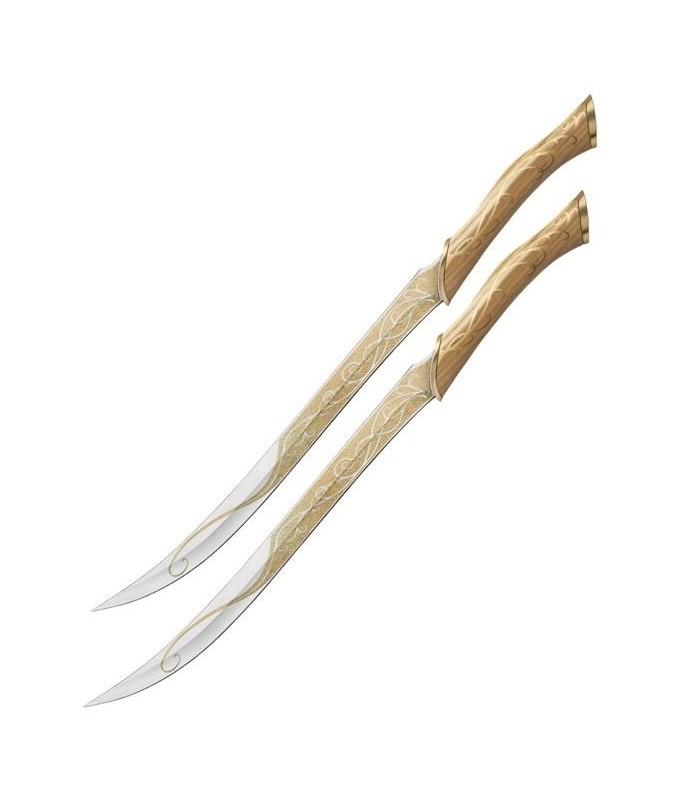 Cuchillos Cazador de Legolas El Hobbit: Un Viaje... Réplica 1:1