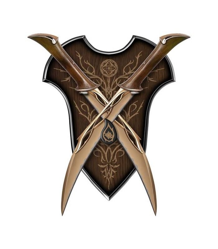 Cuchillos Tauriel El Hobbit: La Desolación... Réplica 1:1