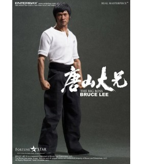 Figura Bruce Lee The Big Boss Real Masterpiece Escala 1:6